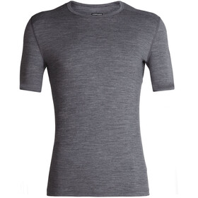 Icebreaker 200 Oasis SS Crew Top Men gritstone heather